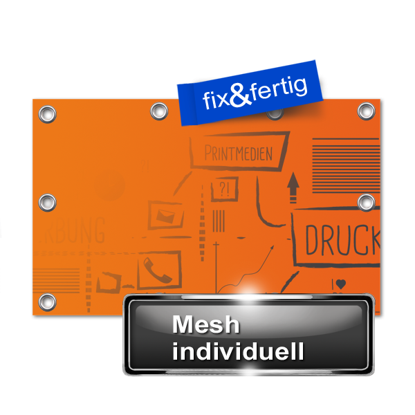 Mesh Banner individuell